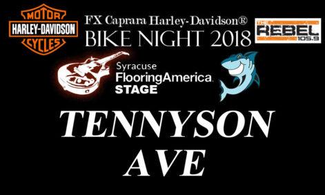 Tennyson Ave FX Caprara Harley Davidson Bike Night – Thursday @ Sharkey's Syracuse Flooring America Summer Stage