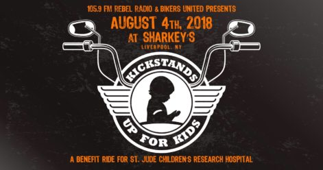 St.Jude Kickstands Up For Kids Saturday