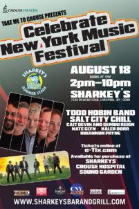 Todd Hobin Celebrate NY Fest @ Sharkey's Syracuse Flooring America Summer Stage