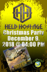 Held Hostage Christmas Party - Sunday @ Sharkey's