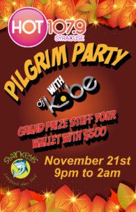 Hot 107.9 Pilgram Party - @ Sharkey's