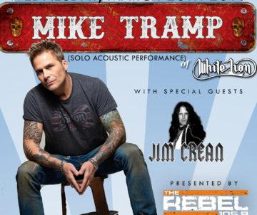 Mike Tramp - Wednesday @ Sharkey's