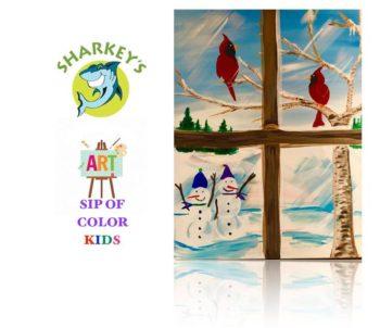 Sharkey's Banquet & Event Center Kids Paint & Pizza @ Sharkey's
