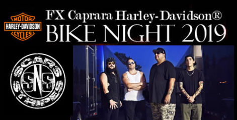FX Caprara Harley Davidson Bike Night – Scars N Stripes @ Syracuse Flooring America Stage @ Sharkey's