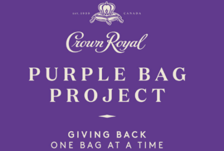 Crown Royal Purple Bag Project @ Sharkey's