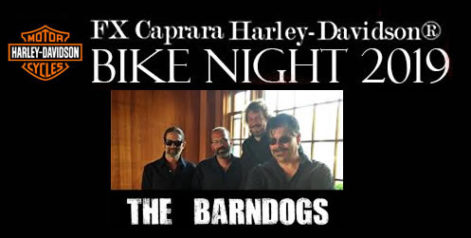 FX Caprara Harley Davidson Bike Night - BarnDogs @ Syracuse Flooring America Stage @ Sharkey's