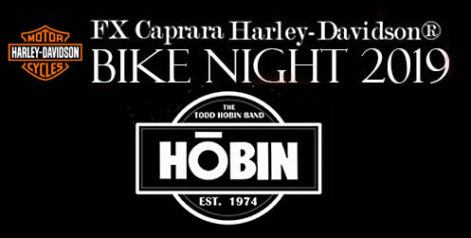 FX Caprara Harley Davidson Bike Night - Todd Hobin @ Syracuse Flooring America Stage @ Sharkey's