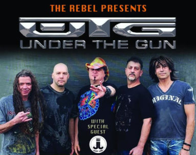 The Rebel Presents: Under The Gun – One More Song @ Syracuse Flooring America Stage @ Sharkey's