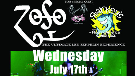 ZOSO - The Ultimate Led Zeppelin Experience!- Wednesday @ Syracuse Flooring America Stage @ Sharkey's