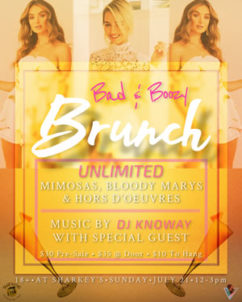 Bad & Boozy Brunch - Sunday @ Sharkey's