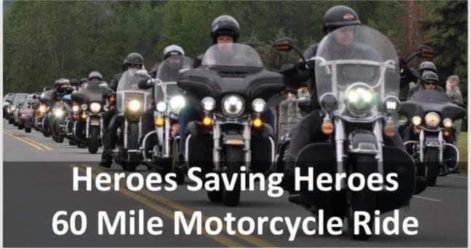 Heroes Saving Heroes Motorcycle Ride - Saturday @ Sharkey's