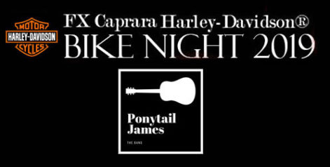 FX Caprara Harley Davidson Bike Night - Ponytail James @ Syracuse Flooring America's Summer Stage at Sharkey's