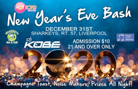 Sharkey's New Year's Eve Party - $10 @ Sharkey's