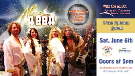 Almost ABBA - Saturday @ under the Burritt Motors Pavilion