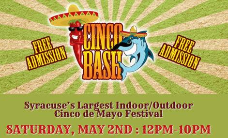 Cinco Bash - Grupo Pagan - Saturday @ Sharkey's, under the Burritt Motors Pavilion