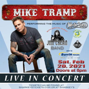 Mike Tramp - Saturday @ Sharkey's