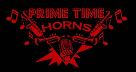 Prime Time Horns - Pauly's Birthday Party - Friday @ Sharkey's, under the Burritt Motors Pavilion