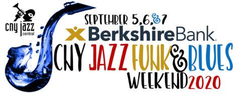 Berkshire Bank CNY Jazz, Funk & Blues Fundraising Weekend Dinners @ Sharkey's, under the Burritt Motors Pavilion